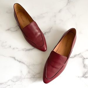 Madewell The Frances Skimmer Leather Flat Shoes